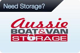 Aussie boat and van storage